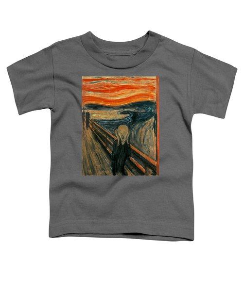 The Scream  Toddler T-Shirt