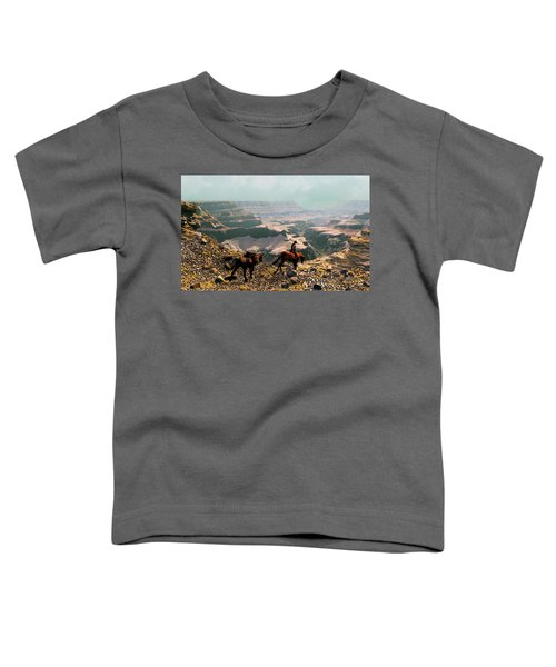 The Sinking Earth Toddler T-Shirt