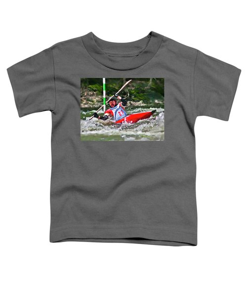 The Slalom Toddler T-Shirt