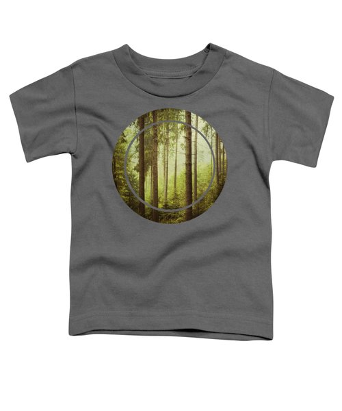 The Small And The Tall - Fir Forest Toddler T-Shirt