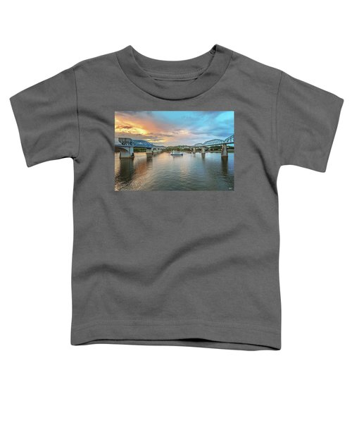 The Southern Belle Between The Bridges  Toddler T-Shirt
