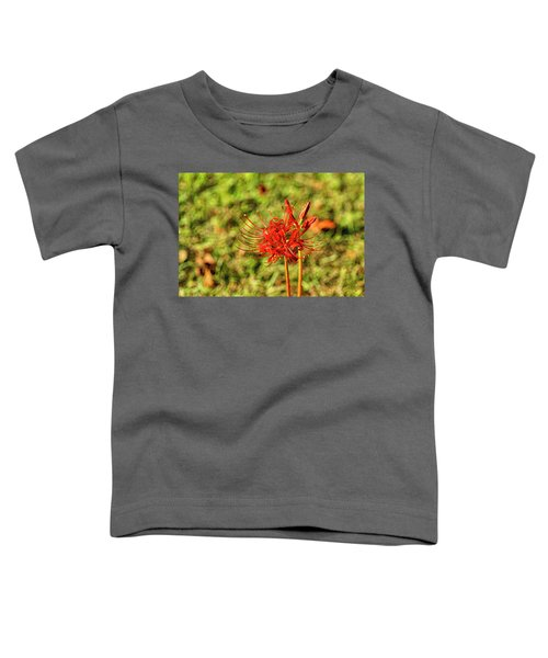 The Spider Lily Toddler T-Shirt