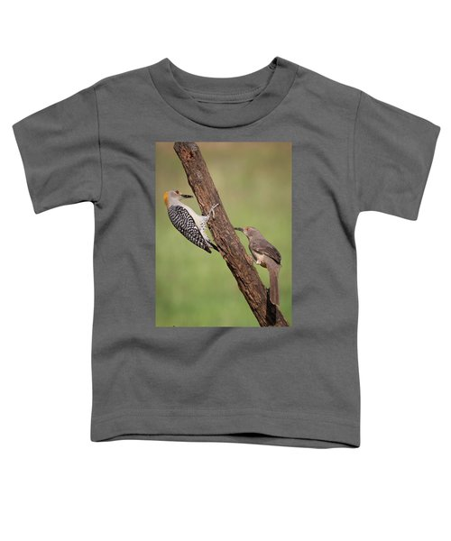 The Stare Down Toddler T-Shirt