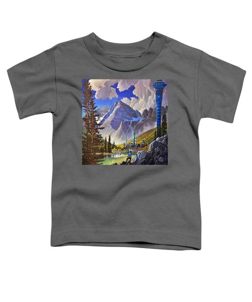 The Three Towers Toddler T-Shirt