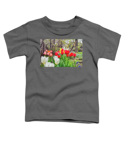 The Tulips Are Out. Toddler T-Shirt