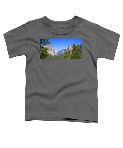 The Valley Of Inspiration-yosemite Toddler T-Shirt