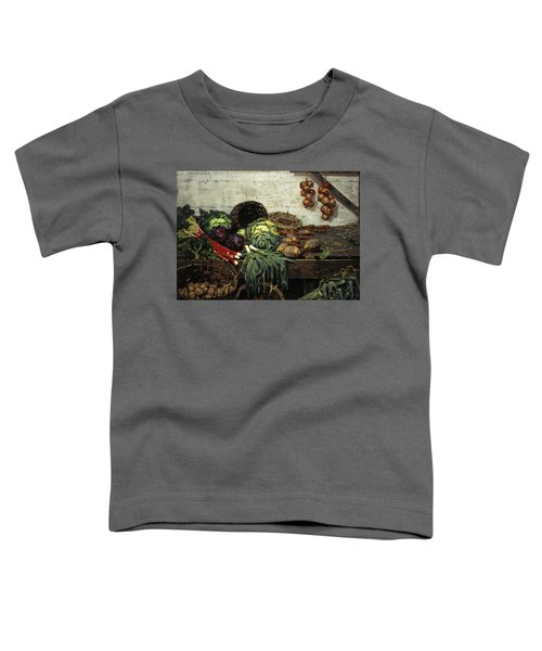The Vegetable Stall, 1884 Toddler T-Shirt