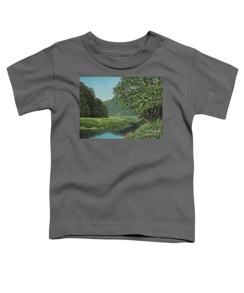 The Wye River Of Wales Toddler T-Shirt