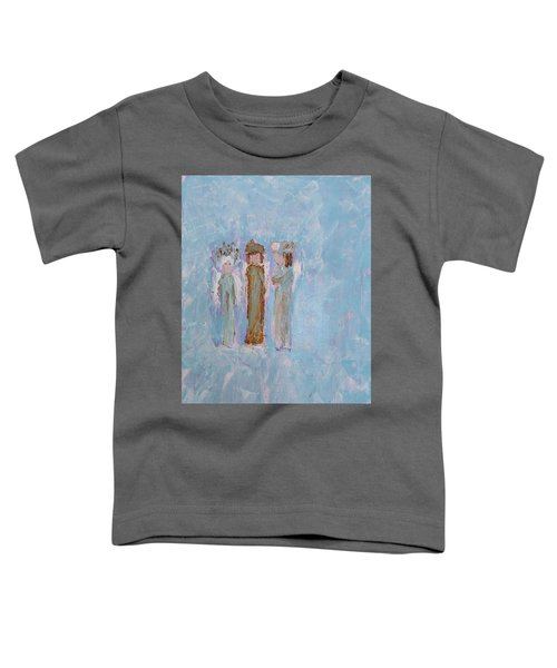 Three Friendly Angels Toddler T-Shirt