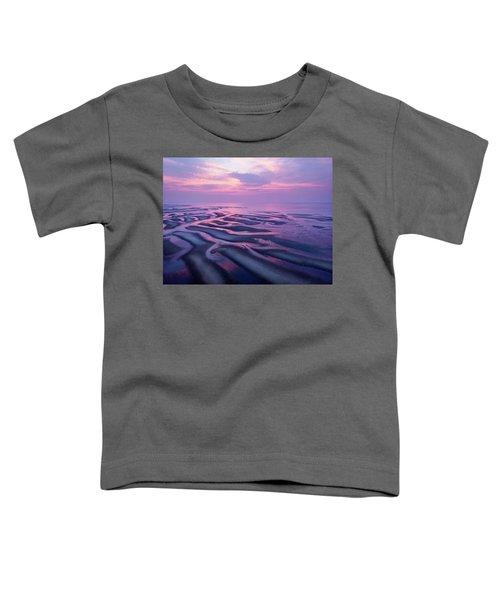 Tidal Flats Sunset Toddler T-Shirt