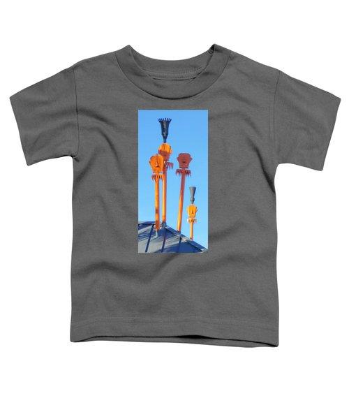 Tiki Palm Springs Toddler T-Shirt