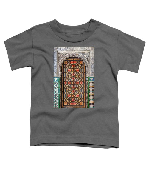 Tiled Door Of Sevilla Toddler T-Shirt