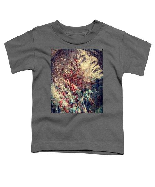 Tina Turner Spirit  Toddler T-Shirt