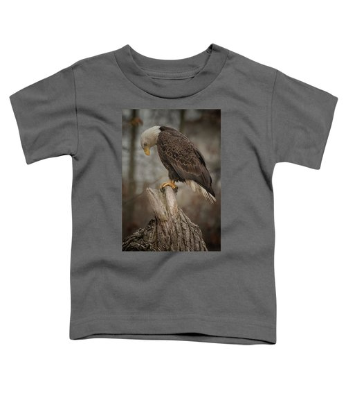 Tired Eagle Dad  Toddler T-Shirt