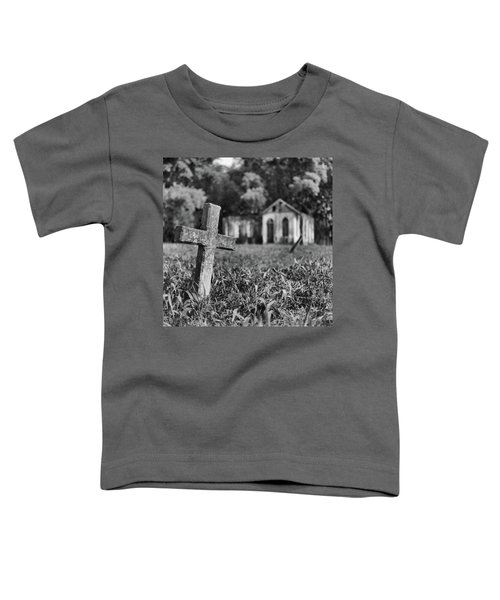 Tombstone, St. Chad's, Trinidad Toddler T-Shirt