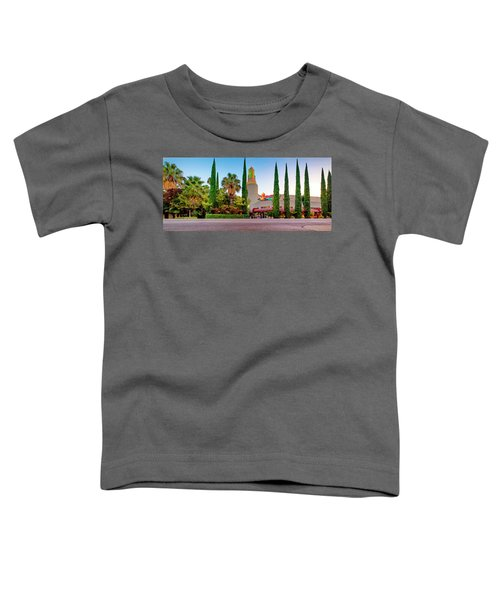 Tower Cafe Dusk- Toddler T-Shirt