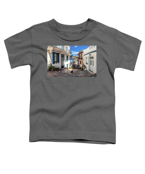 Town Of Skopelos Toddler T-Shirt