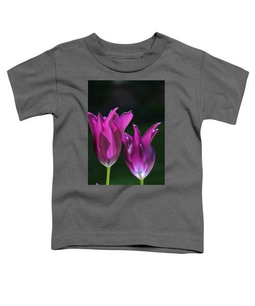 Translucent Tulips Toddler T-Shirt