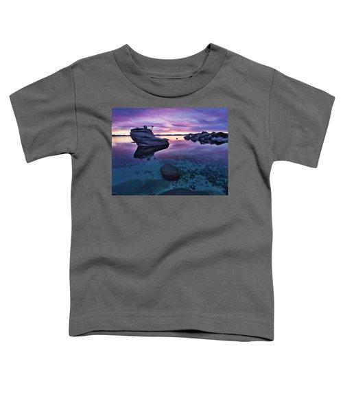 Transparent Sunset Toddler T-Shirt