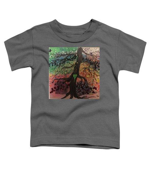 Tree Of Life Chakra Tree Toddler T-Shirt