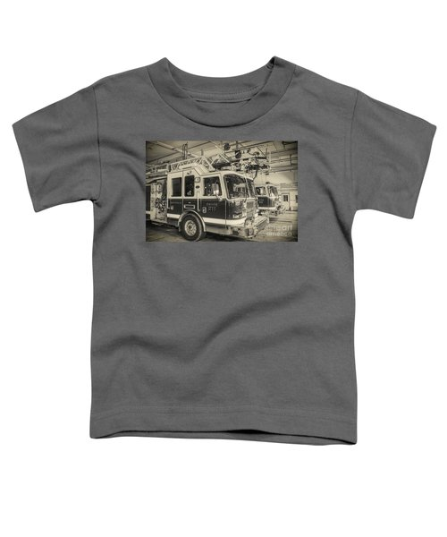 Truck And Engine 211 Toddler T-Shirt