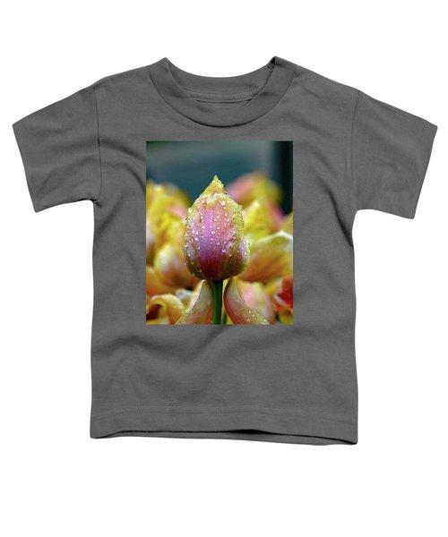 Tulips In The Rain Toddler T-Shirt