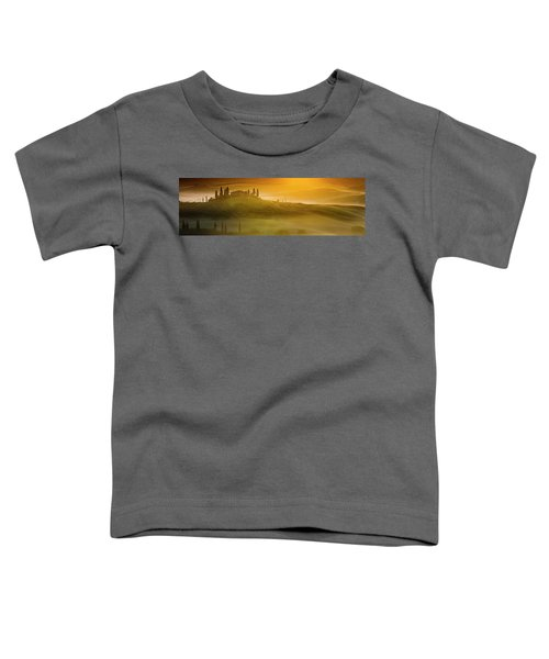 Tuscany In Gold Toddler T-Shirt