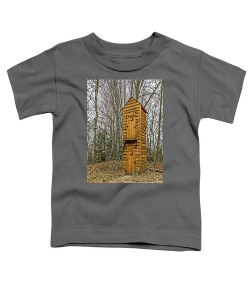 Two-story Outhouse For Voters And Politicians Toddler T-Shirt