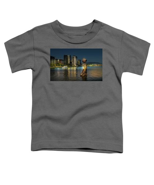 Vancouver Sunset Toddler T-Shirt