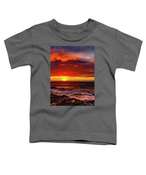 Vertical Warmth Toddler T-Shirt