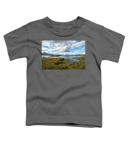 View In Glencoe, Scotland Toddler T-Shirt