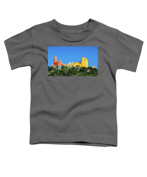 View Of Pena National Palace, Sintra, Portugal, Europe Toddler T-Shirt