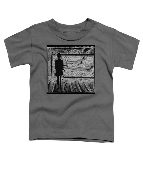 Viewing Supine Woman. Toddler T-Shirt