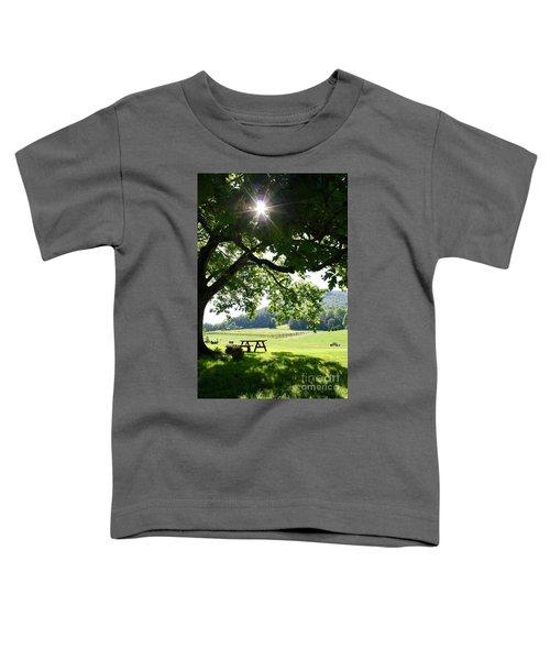 Vineyard In Georgia Toddler T-Shirt