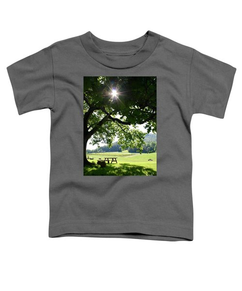 Vineyard In Georgia Toddler T-Shirt