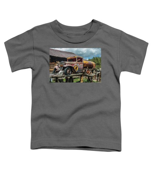 Vintage Ford Tanker Toddler T-Shirt