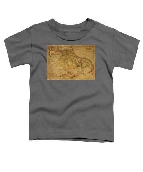 Vintage Map Of Guyana And Eastern South America 1818 Toddler T-Shirt