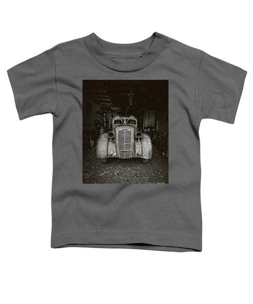 Vintage Service Station Jerome Arizona Toddler T-Shirt