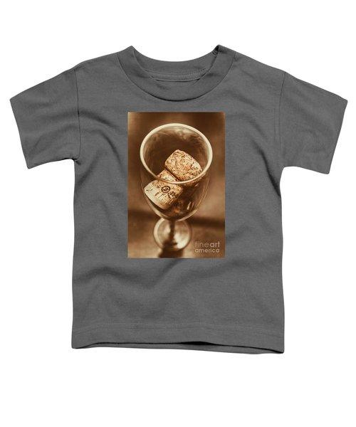 Vintage Vino Toddler T-Shirt