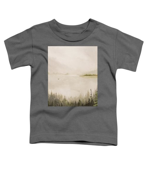 Waiting For The Eagle To Come Toddler T-Shirt
