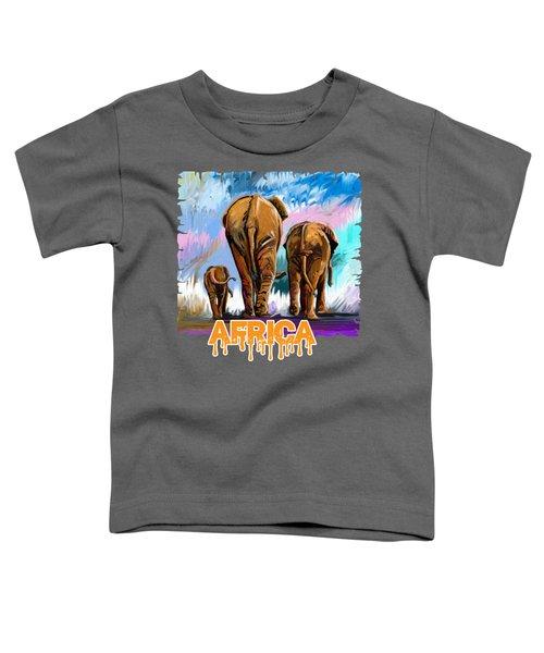 Walking Away Toddler T-Shirt