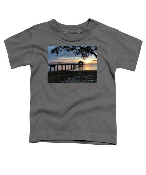 Walking Bridge To The Gazebo Toddler T-Shirt