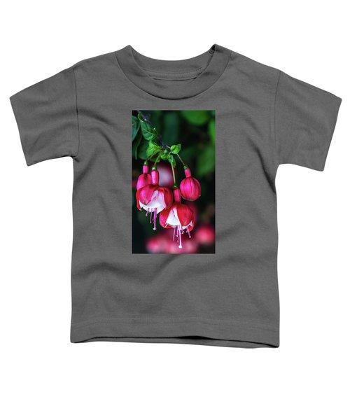 Wallpaper Flower Toddler T-Shirt
