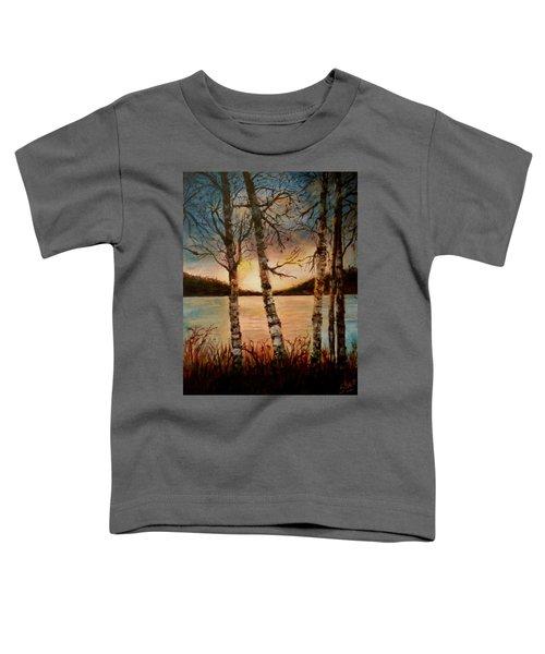 Warm Fall Day Toddler T-Shirt