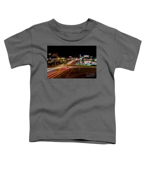 Washington Road At Night - Augusta Ga Toddler T-Shirt