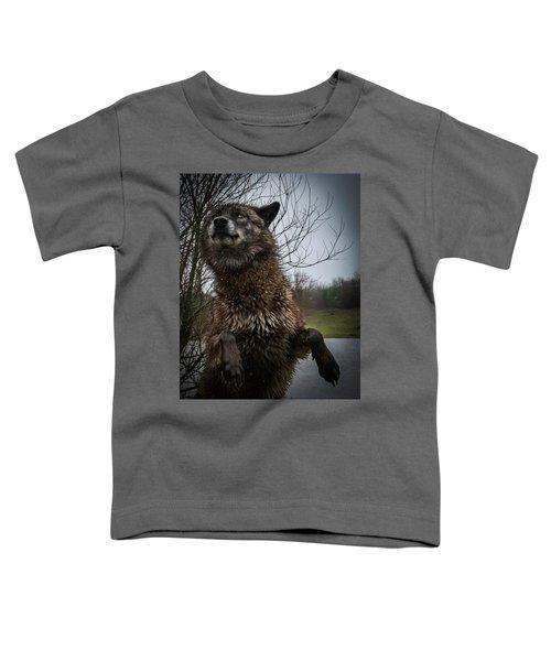 Watch The Eyes Toddler T-Shirt