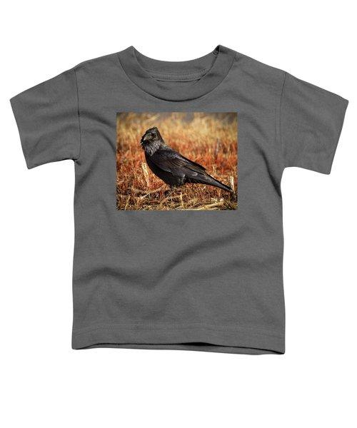 Watchful Raven Toddler T-Shirt