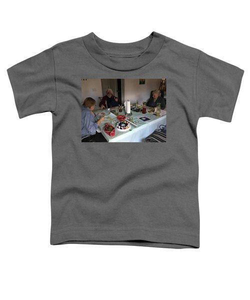 Watercolor Weekly Toddler T-Shirt