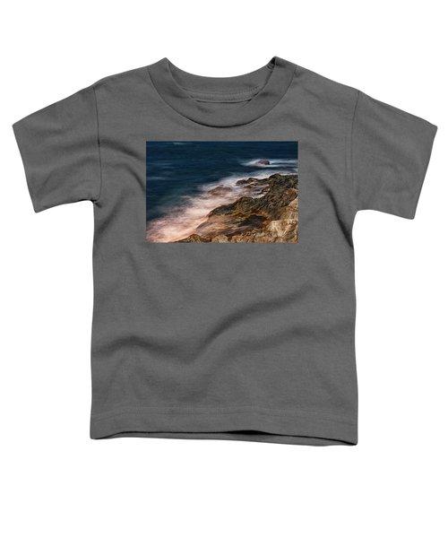 Waves And Rocks At Sozopol Town Toddler T-Shirt