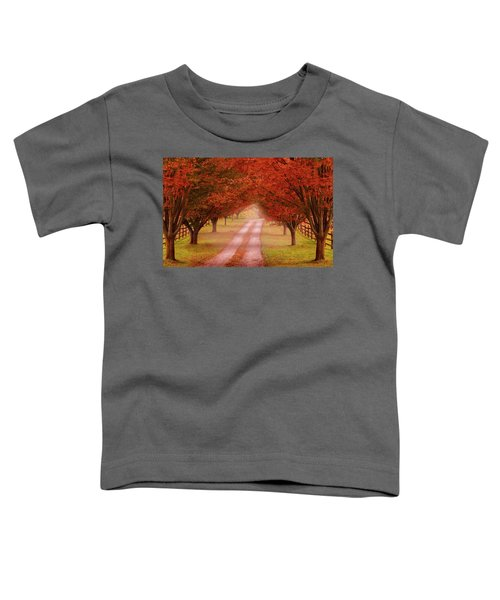 Way To The Farm Toddler T-Shirt